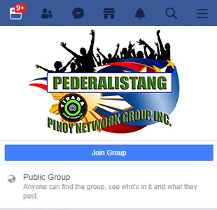 PEDERALISTANG PINOY NETWORK GROUP INC.